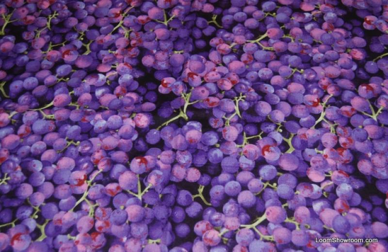 Farmer S Market Fruit Vine Fresh Purple Grapes Quilt