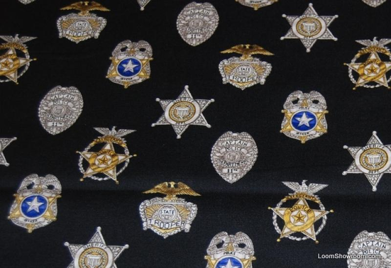 american police force badge
