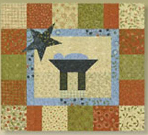 In a Manger Quilt Kit