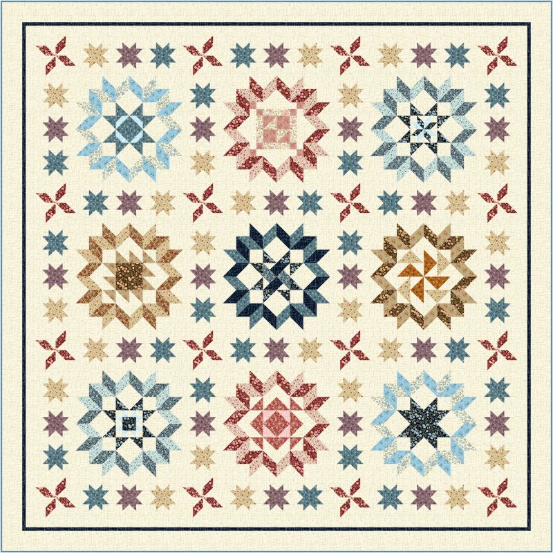 Plain and Fancy by Quilting Treasures