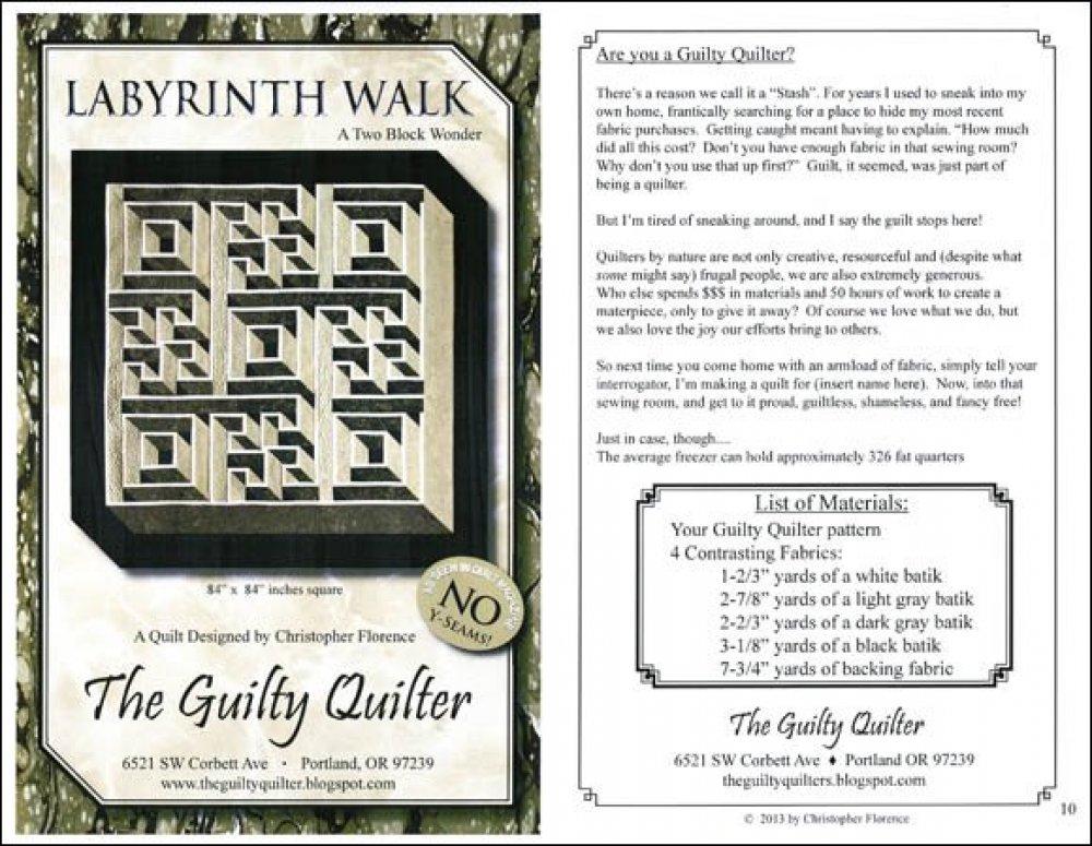 Labyrinth Walk A Two Block Wonder - GQU02 - 714329645650