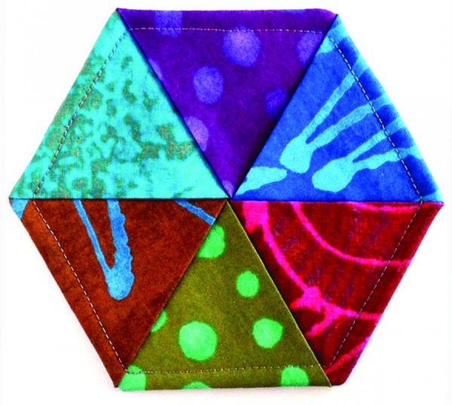 Hexie Twist Coaster Pattern Clpjcr001