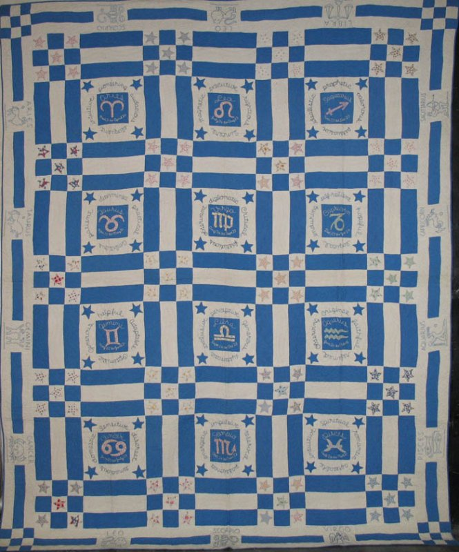 ZODIAC ANTIQUE QUILT