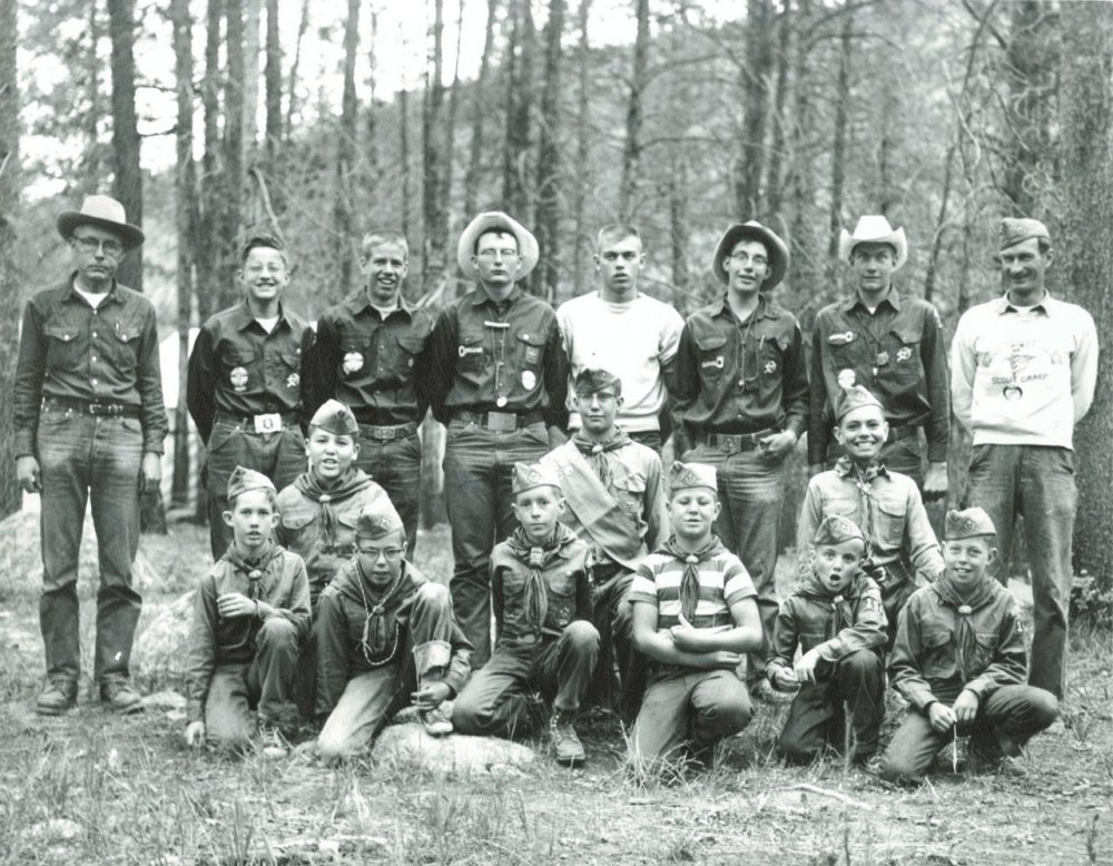 Hot Sulphur Springs Boy Scout Troop - 19502