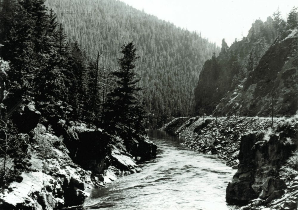 Byers Canyon, Hot Sulphur Springs, 1920