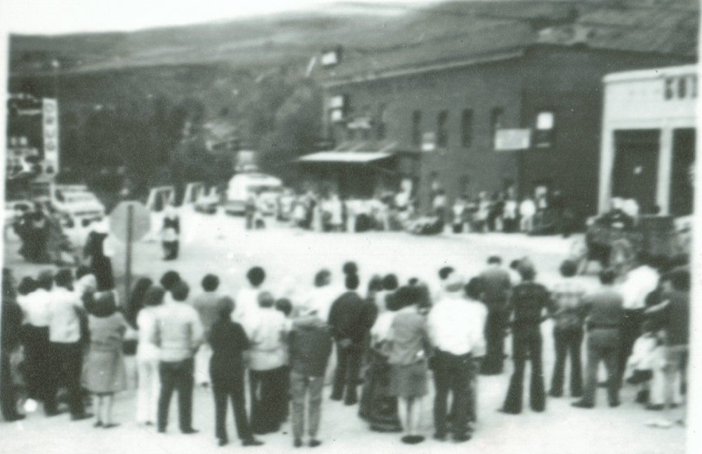Sulphur Days 1976 at Grand Avenue & Aspen Street - Hot Sulphur Springs, Colorado