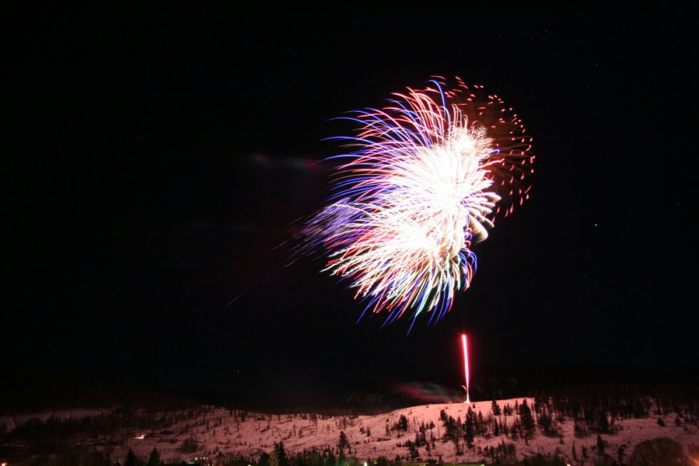 Grand Winter Sports Carnival Fireworks