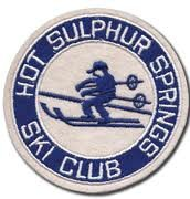 Hot Sulphur Springs Ski Club Patch