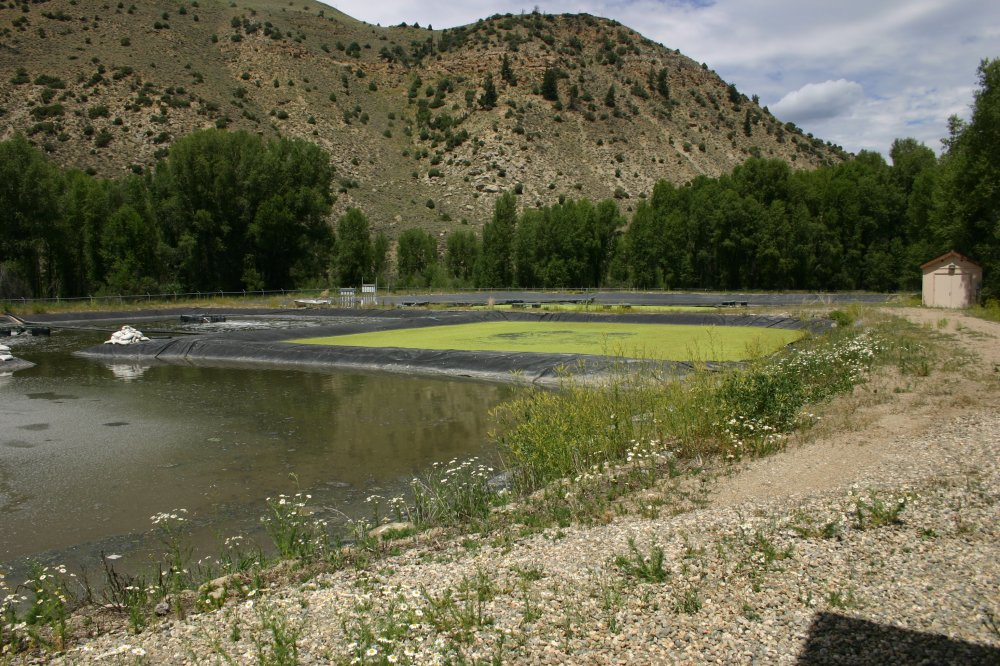Hot Sulphur Springs, Colorado waste water lagoons