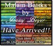 Malam Batiks by Jinny Beyer have Arrived