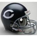 Chicago Bears Throwback 60-73 Riddell Full Size Authentic Football Helmet