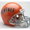 Cincinnati Bengals Throwback 68-79 Riddell Full Size Authentic Football Helmet