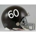 Denver Broncos Throwback 60-61 Riddell Full Size Authentic Football Helmet