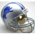 Detroit Lions Throwback 62-68 Riddell Full Size Authentic Football Helmet