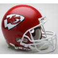 Kansas City Chiefs Riddell Full Size Authentic Football Helmet