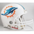 Miami Dolphins Riddell Full Size Authentic Football Helmet