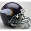Minnesota Vikings Throwback 61-79 Riddell Full Size Authentic Football Helmet