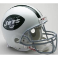 New York Jets Throwback 65-77 Riddell Full Size Authentic Football Helmet