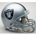 Oakland Raiders Riddell Full Size Authentic Football Helmet