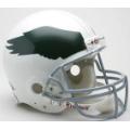 Philadelphia Eagles Throwback 69-73 Riddell Full Size Authentic Football Helmet