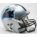Carolina Panthers Riddell Revolution Full Size Authentic Football Helmet