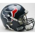 Houston Texans Riddell Revolution Full Size Authentic Football Helmet