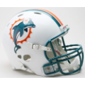 Miami Dolphins Riddell Revolution Full Size Authentic Football Helmet
