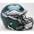 Philadelphia Eagles Riddell Revolution Full Size Authentic Football Helmet
