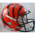 Cincinnati Bengals Riddell Revolution Speed Full Size Authentic Football Helmet