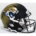 Jacksonville Jaguars Riddell Revolution Speed Full Size Authentic Football Helmet