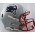 New England Patriots Riddell Revolution Speed Full Size Authentic Football Helmet