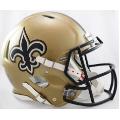 New Orleans Saints Riddell Revolution Speed Full Size Authentic Football Helmet