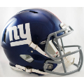 New York Giants Riddell Revolution Speed Full Size Authentic Football Helmet