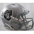 Oakland Raiders Riddell Revolution Speed Full Size Authentic Football Helmet