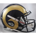 St. Louis Rams Riddell Revolution Speed Full Size Authentic Football Helmet