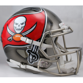 Tampa Bay Buccaneers Riddell Revolution Speed Full Size Authentic Football Helmet