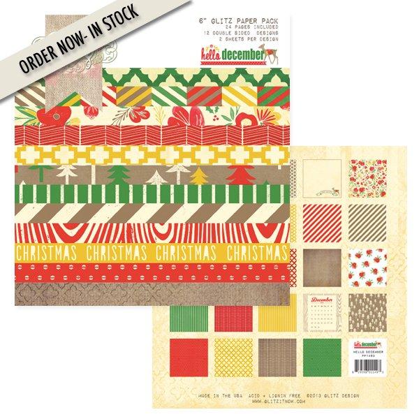 More Glitz 6 x 6 Paper Pads