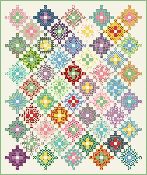 New Block Of The Month Quilt