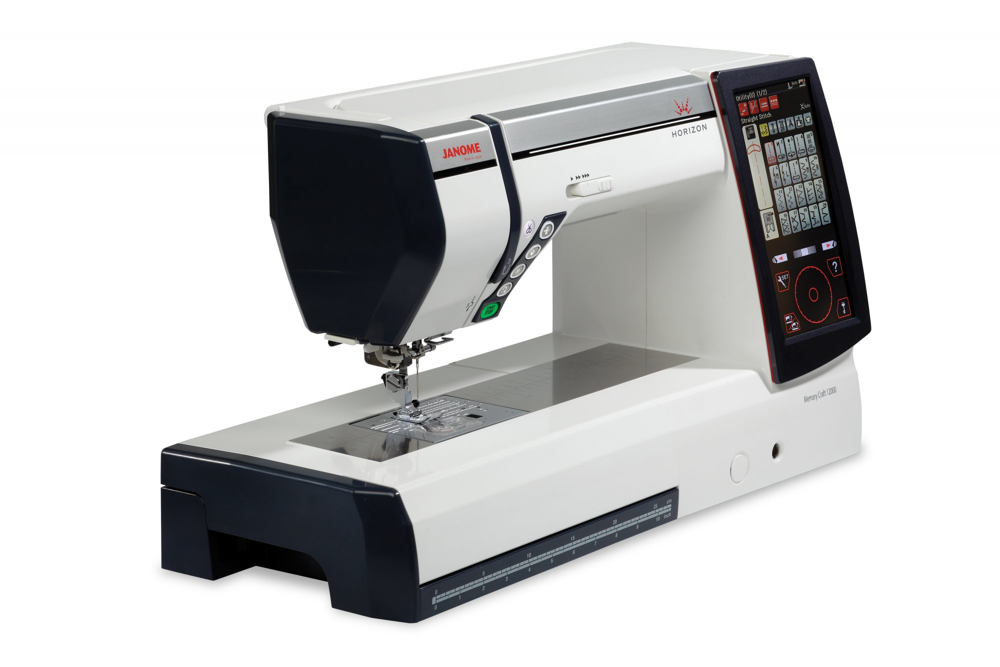 Janome Memory Craft 12000 Embroidery, Quilting, Sewing Machine