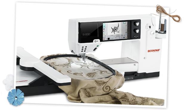 Bernina 830e Embroidery Amp Sewing Machine Incl Bsr
