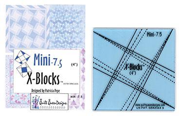 X-Blocks Mini-7.5'' template