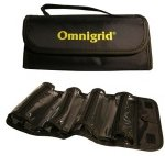 Omnigrid Black Roll Tool Case with 4 compartments