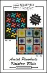 Amish Pinwheels & Rainbow White