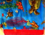 Fabric Kits- Tropical waters with sea turtles