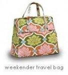 Amy Butler- Weekender Travel Bag