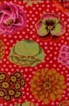 Kaffe Fassett-Big Blooms-GP91-Red