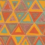 Brandon Mably-Beaded Tents-BM20-OCHRE