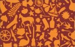 Kaffe Fassett-Folk Art-GP119-RUST