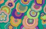 Kaffe Fassett-Kite Tails-GP122-EMERALD