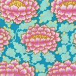 Kaffe Fassett-Frilly-KF-GP126-PINK